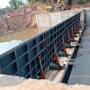 水利翻板闸|河道液压翻板闸门304不锈钢