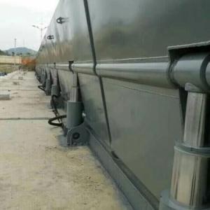 低横轴液压翻板闸门|施工方便,价格合理