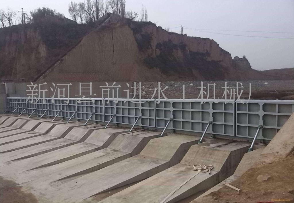 前进钢制闸门设计 钢结构闸门厚度