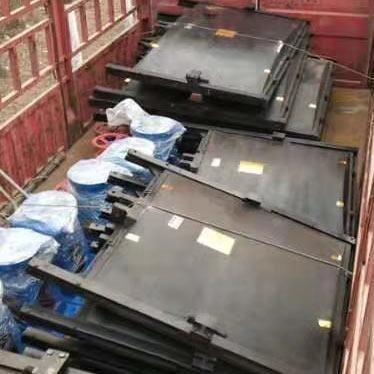广州斗门分水闸1.4×1.0铸铁闸门