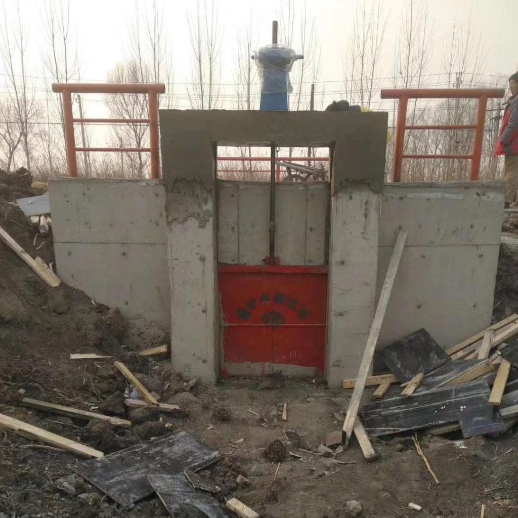 杭州2米*2米铸钢闸门