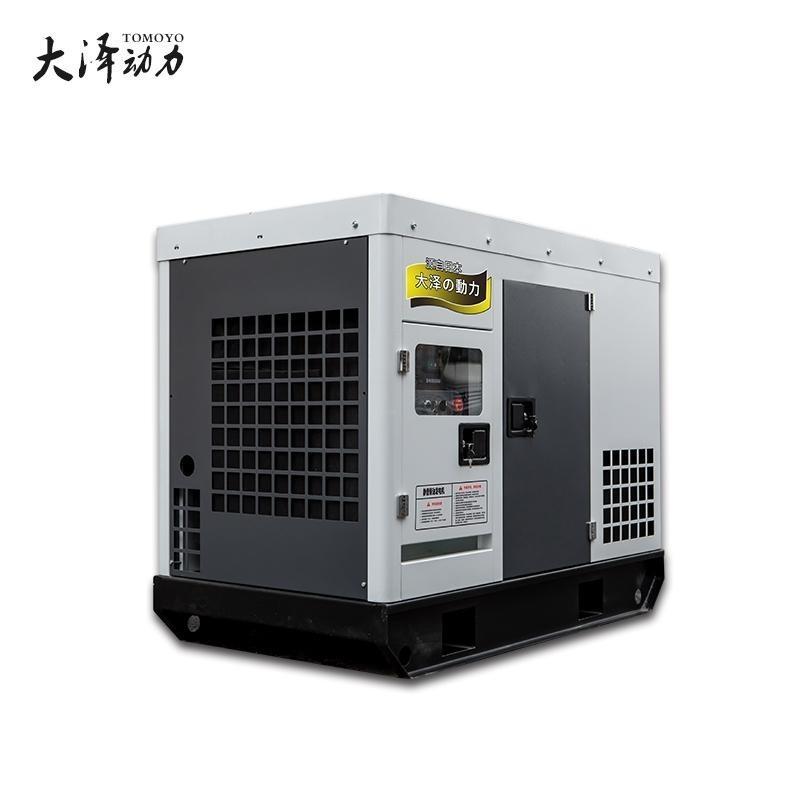 大泽50千瓦静音柴油发电机重量轻