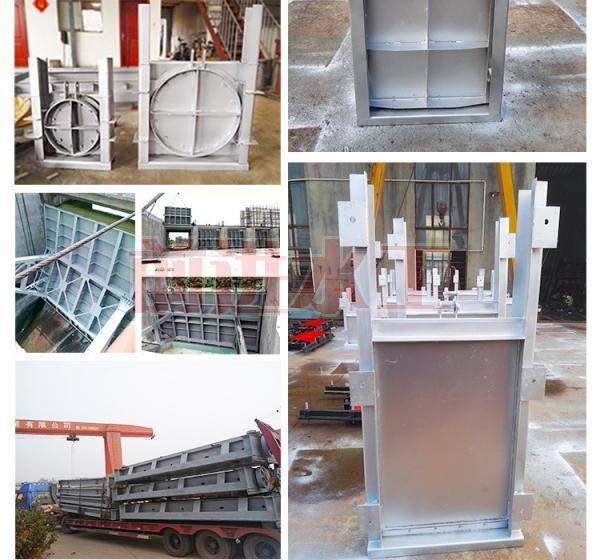 喷锌手动平面钢制闸门厂家直供价格