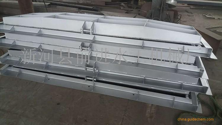 小型平板水库钢闸门