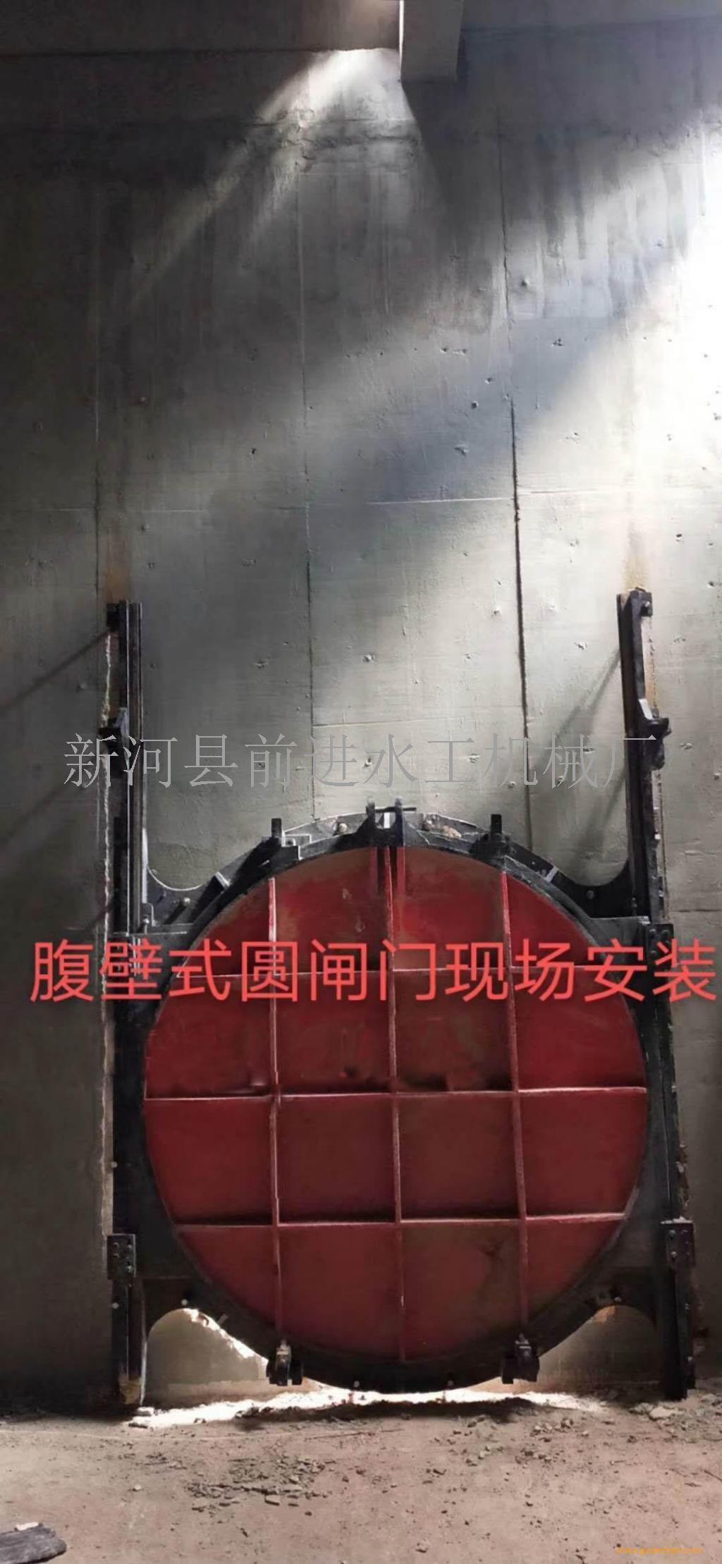 机闸一体式铸铁镶铜闸门