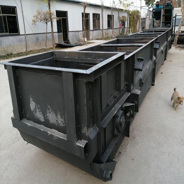 耐磨刮板输送机  常用单双链刮板输送机
