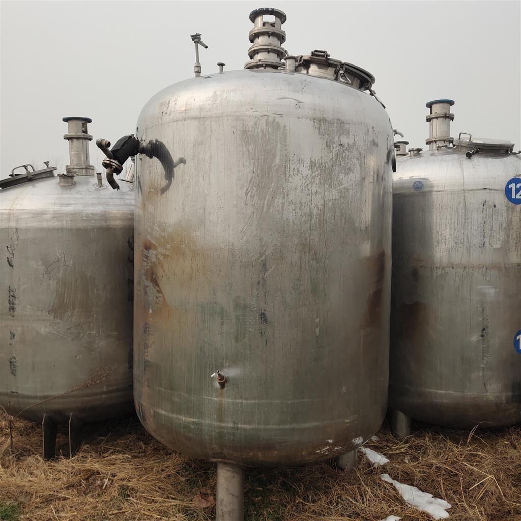 二手反应釜高压 二手搪瓷反应釜厂家