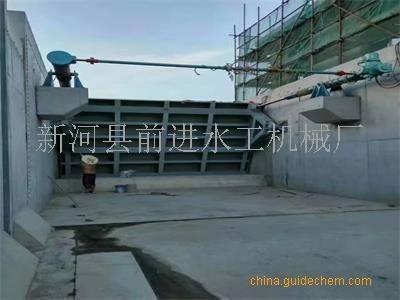 钢制液压翻板钢坝厂家定制
