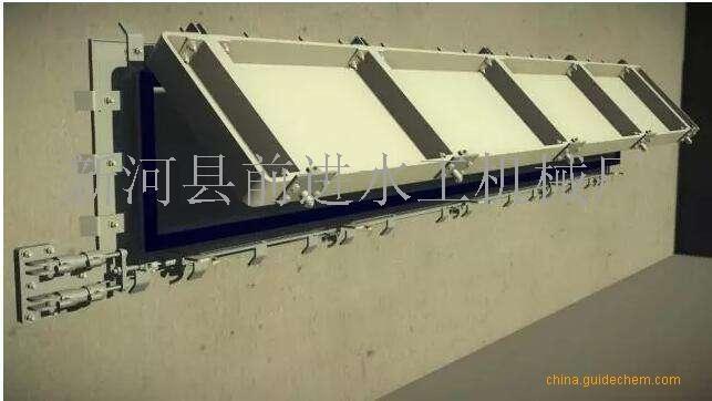 水力冲洗门生产技术规范