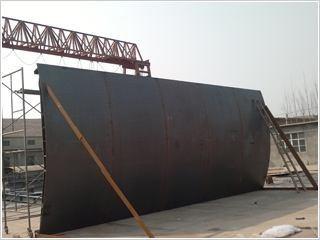 平面定轮钢闸门水工安全检测