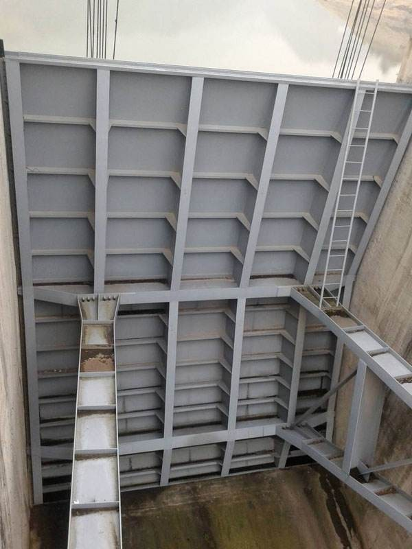 大型弧形钢闸门项目  弧形钢闸门的防腐