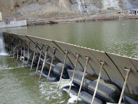 钢坝厂家 液压坝安装