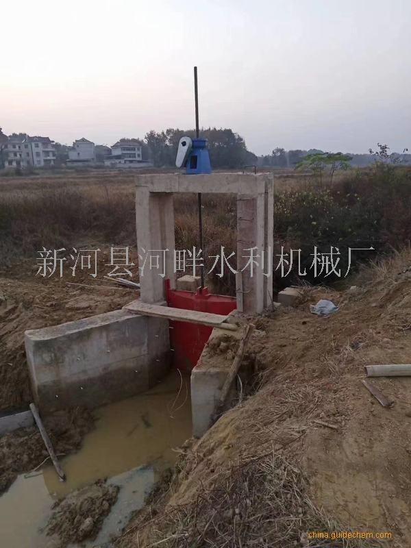 绍兴海口PGZ平面铸铁闸门