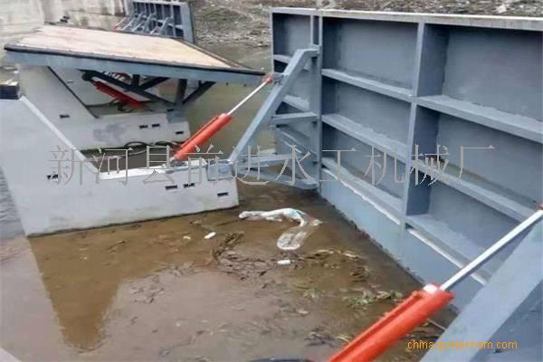 液压升降坝安装说明