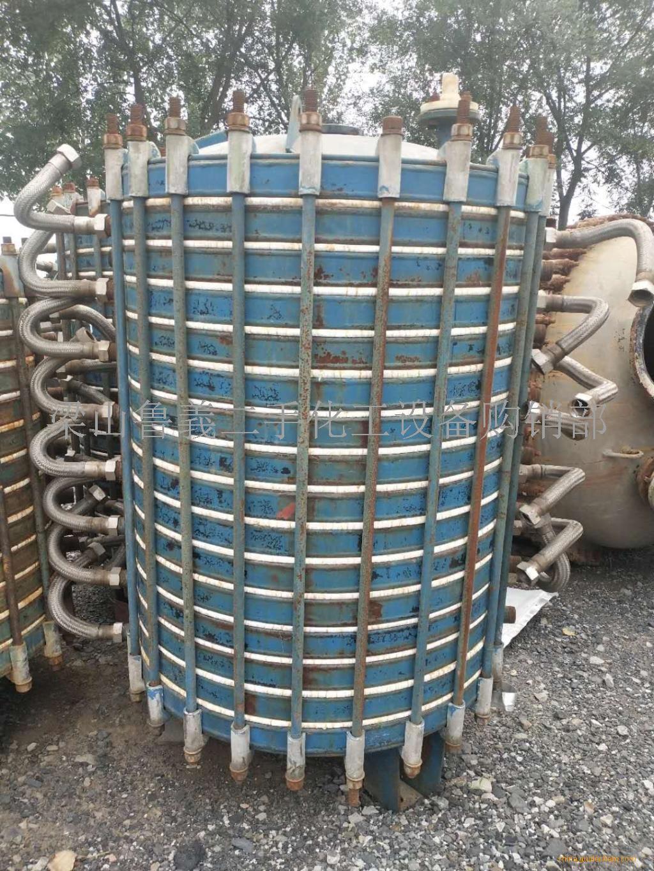回收闲置二手搪瓷冷凝器