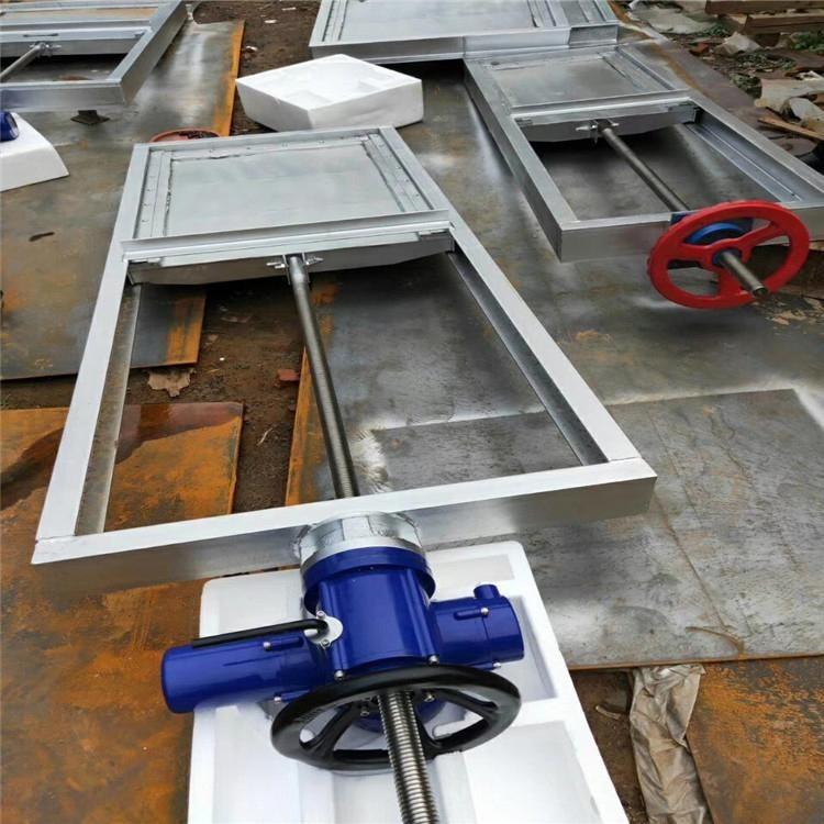 钢制插板闸门 电动液压钢坝闸门 滑轮钢制闸门价格优惠 多种款式矩形单向止水