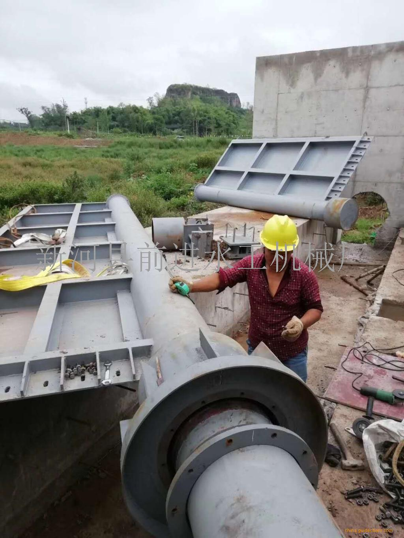 钢制闸门运行状况