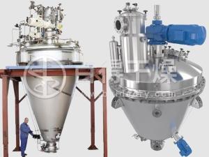 真空锥形混合干燥机在原料药后处理中静电问题注意事项