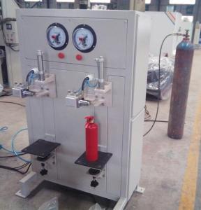 新型快速灭火器气动充气台,带防护保护功能的灭火器加压工具