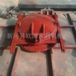 DN500/600铸铁镶铜圆闸门