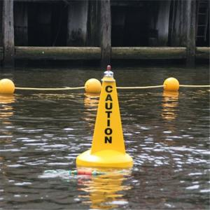 航道耐磨警戒标识定位塑料航标产品介绍 产品图片