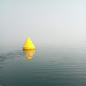 浅海航道警戒定位塑料浮标 内河助航警示航标批发 产品图片