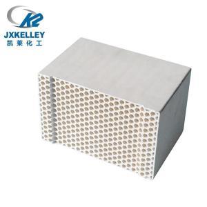 凯莱RTO蜂窝陶瓷蓄热体专用 莫来石蓄热体六角孔白色蜂窝陶瓷加热炉蓄热