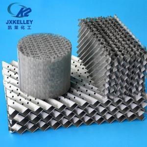 凯莱金属孔板波纹填料脱硫塔
