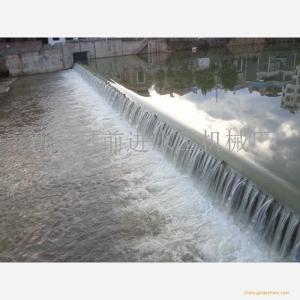 前进水工专业定制合页活动坝 液压合页坝工作原理