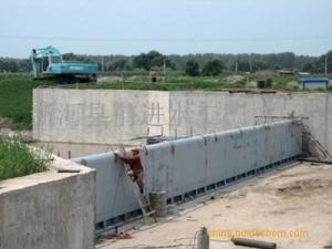 前进液压合页坝工作原理 液压合页活动坝供应商