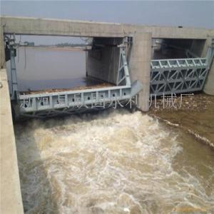 河道景观自动液压翻板闸门