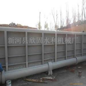 液压钢坝 钢闸坝