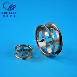 凯莱化工 双翻边短环填料 金属双翻边阶梯环