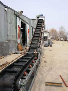 爬坡输送机 大倾角皮带输送机适用范围
