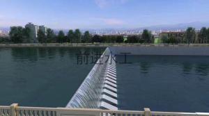 河北厂家供应液压景观钢坝  工程液压景观坝优势分析