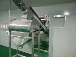 小颗粒粘性物料烘干机-滚筒干燥机的性能特点及工作原理