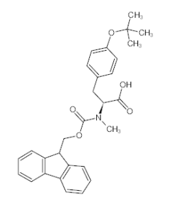 Fmoc-N-Me-L-Tyr(tBu)-OH|133373-24-7|吉泰肽业|O-叔丁基-N-[(9H-芴-9-基甲 产品图片