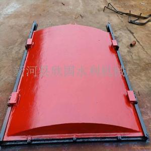铸铁闸门1.5*1.5米用5吨手摇启闭机价格