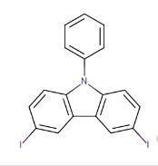3,6-二碘代-N-苯基咔唑   CAS号:57103-21-6