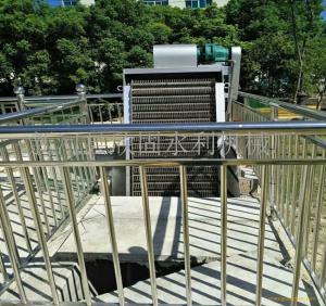 细格栅清污机 泵站回转式清污机