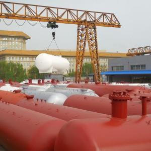 中杰厂家直供100立方LPG储罐100立方液化气储罐、100立方液化石油气储罐、100立方丙烷储罐 产品图片