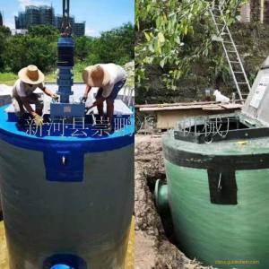 一体化泵站制造工艺流程,一体化雨水泵站厂家