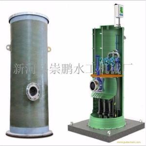 崇鹏专业生产一体化泵站,一体化雨水泵站平价销售