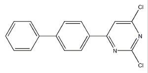 4-(4-联苯基)-2,6-二氯嘧啶   CAS号:1385826-81-2