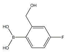 4-氟-2-(羟甲基)苯基硼酸    CAS号:1061223-45-7