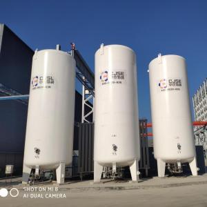 中杰100立方液氧储罐1.6MPa 100立方液氧储罐0.8MPa配置区别 产品图片