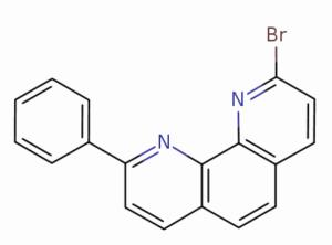 2-溴-9-苯基-1,10-菲咯啉