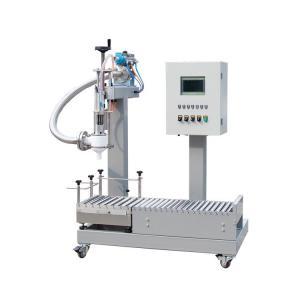 盐酸硫酸20公斤液体罐装机 不锈钢灌装机