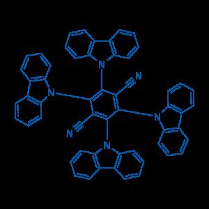 2,3,5,6-四(9H-咔唑-9-基)对苯二腈
