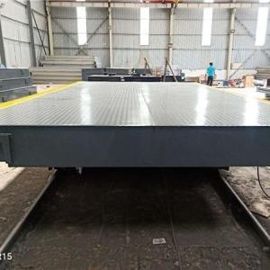 24米高强钢地磅-雅齐 产品图片